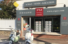 logo Pm immobilier cegey